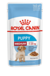 Pouch Royal canin Puppy medium