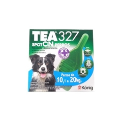 TEA 327 SPOT ON PERROS - Kawellu Veterinaria Integral