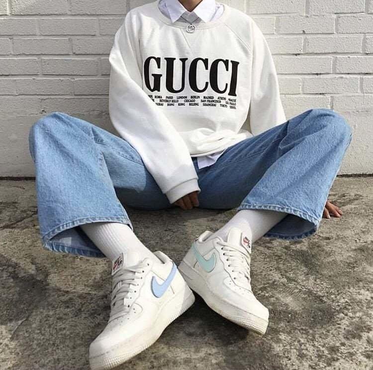 ahorrar colores armoniosos gran descuento venta Buzo Gucci Blanco