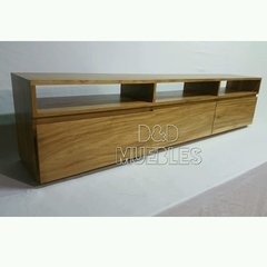 Rack Tv De Petiribi 2 X 0,60 X 0,35 D&d Muebles. - D&D Muebles