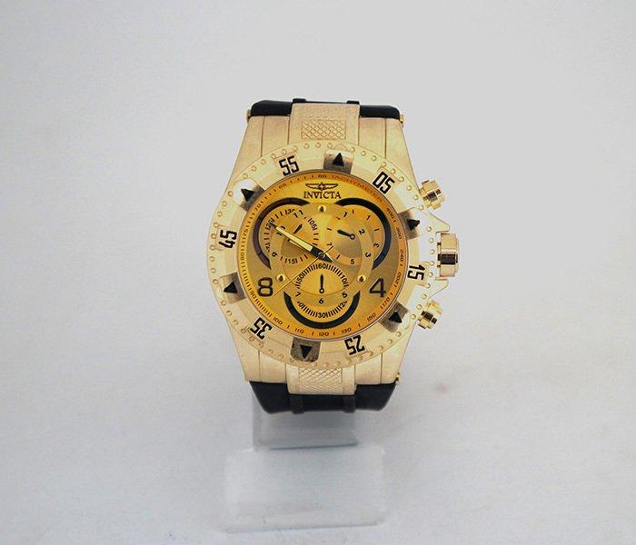 b9409a48139 Relógio Invicta Dourado - Comprar em Tênis Online