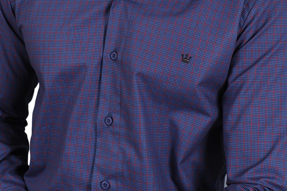 90bd54d7fe camisa xadrez masculina azul