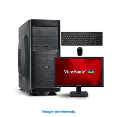 "INTEL PENTIUM G4400 MSI-H110M 4GB DDR4 MONITOR VIEWSONIC 18,5"" TECLADO Y MOUSE"