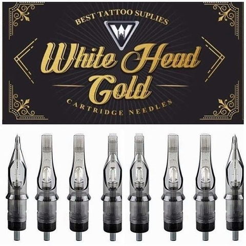Cartucho White Head Gold | 23 RM und.