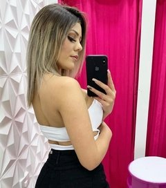 Cropped Tomara que caia Luxxo - Pink Store