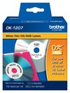 Cinta para rotular original Brother DK-1207 (negro sobre fondo blanco) 58mm x 58mm
