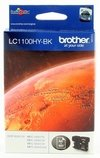 Cartucho de tinta inkjet original Brother LC1100HY-BK