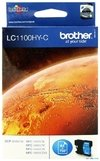Cartucho de tinta inkjet original Brother LC1100HY-C