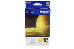 Cartucho de tinta inkjet original Brother LC1100Y