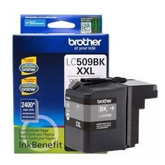 Cartucho de tinta inkjet original Brother LC509BK XXL