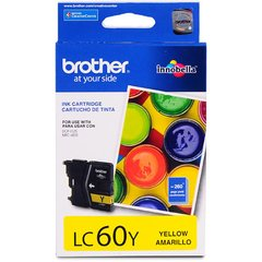 Cartucho de tinta inkjet original Brother LC60Y