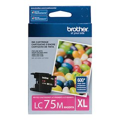 Cartucho de tinta inkjet original Brother LC75M XL