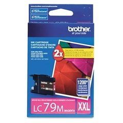 Cartucho de tinta inkjet original Brother LC79M XXL