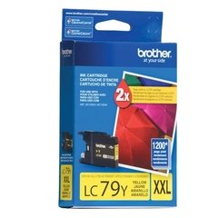 Cartucho de tinta inkjet original Brother LC79Y XXL