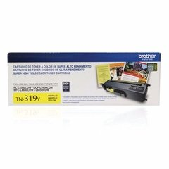 Cartucho de toner original Brother TN-319Y