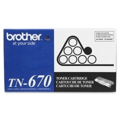 Cartucho de toner original Brother TN-670