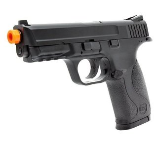 Pistola de Airsoft Gas CO2 S&W MP40 Slide Metal Cal 6.0mm KWC