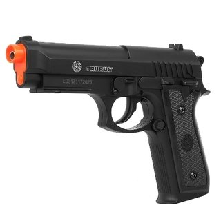 Pistola de Airsoft CO2 Taurus PT92 NBB Full Metal Preta 6.0mm Cybergun