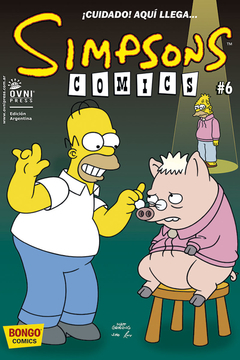 SIMPSONS COMICS #6