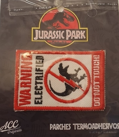 "PARCHE JURASSIC PARK ""DO NOT TOUCH"""