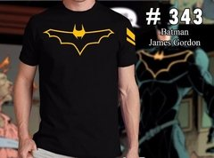 Remeras De Comics Batman James Gordon   #343
