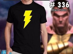 Shazam / Black Adam : Remeras Estampadas De Comics - Dos Caras Remeras de Comics