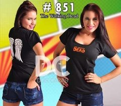Remeras De Comics Para Chicas - The Walking Dead
