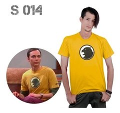 Remera Sheldon Cooper The Big Bang Theory Hombre Halcon