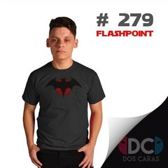 Batman Thomas Wayne - Flashpoint Remera Dc Comics