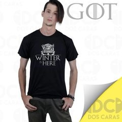 Remera Game Of Thrones Winter Is Here  Caminante Blanco Got