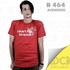 Remera Avengers Spiderman Unica No Me Siento Tan Bien Marvel