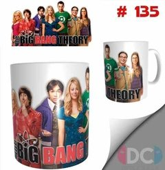Taza The Big Bang Theory De Tv  # 135