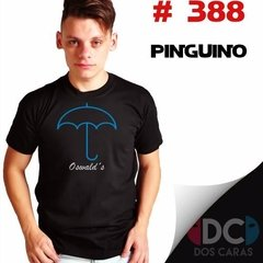 El Pinguino - Batman : Remeras Estampadas De Comics # 388