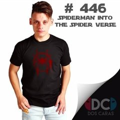 Spiderman Into The Spider Verse Remera De Comics