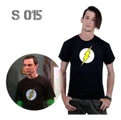 Remera Sheldon Cooper The Big Bang Theory The Flash