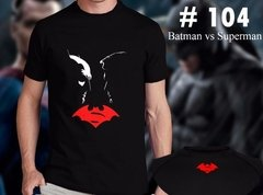Batman Vs Superman Remeras Estampadas De Comics # 104