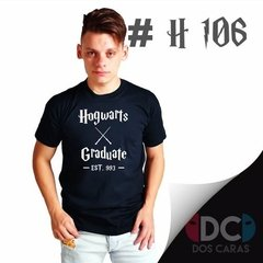 Remera Harry Potter Solo Para Fanaticos - Dos Caras Remeras de Comics