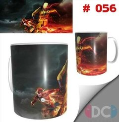 Taza De Comics Coleccionable Flash - Reverso #001