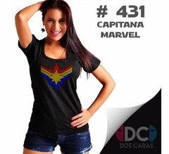 Capitana Marvel - Avengers Captain Marvel #431 Remera Comics - comprar online