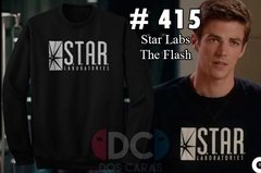 Buzos Hoodies Star Laboratories Barry Alen The Flash Dc