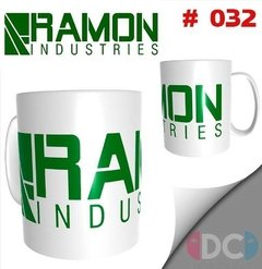 Taza Comics Coleccionables Ramon Industries Flashpoint  #032