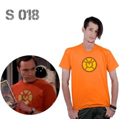 Remera De Comics - The Big Bang Theory - Linterna Naranja