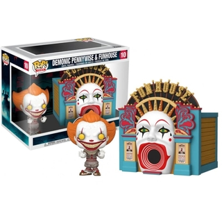Funko Pop! IT - Demonic Pennywise & Funhouse #10