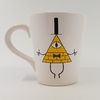 Taza Gravity Falls Bill Cipher