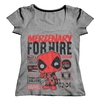 Remera Deadpool Mercenary For Hire (S142) Talle 1 (M)