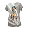 Remera Wonder Woman Gris Talle 2 (M)