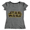 Remera Star Wars Logo (S132) Talle 3 (M)
