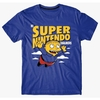 Remera Simpsons Super Nintendo Chalmers (S165) Talle XXL