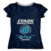 Remera Stark Industries (S134) Talle 4 (M)