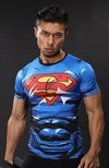 Camisa / Camiseta Hash Guard Superman Thunder Trovão Compressão